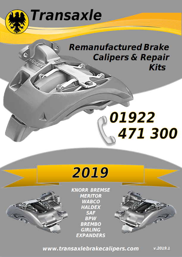 2019 Caliper & Kits Catalogue